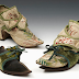 Clogs for Keeping an 18th c. Lady's Shoes Clean