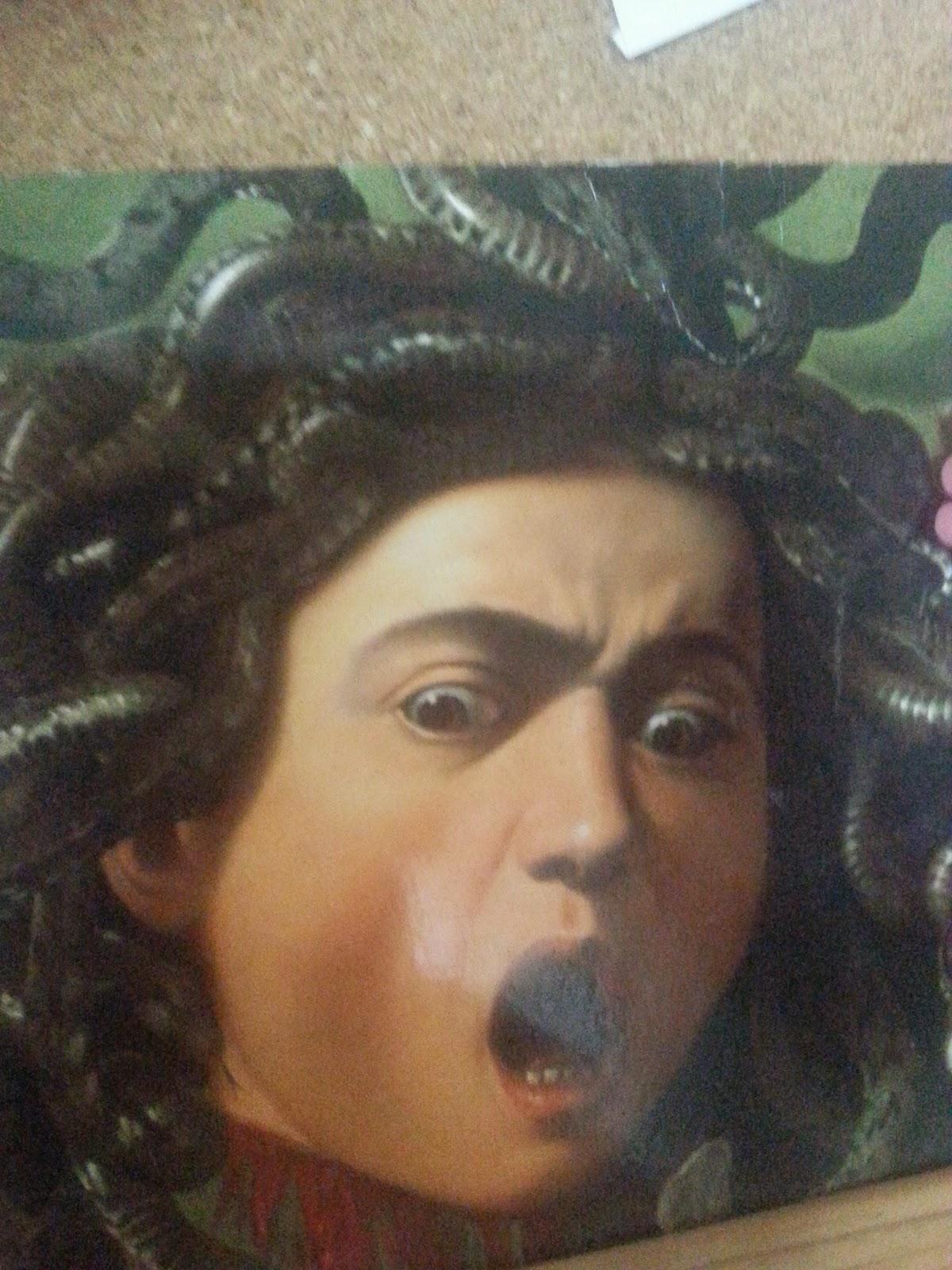 caravaggio's medusa