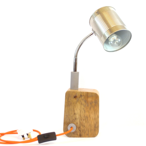 Ma-Bicyclette - Buy-Handmade - Lighting - Aiden Spencer - Tin Can Lamp