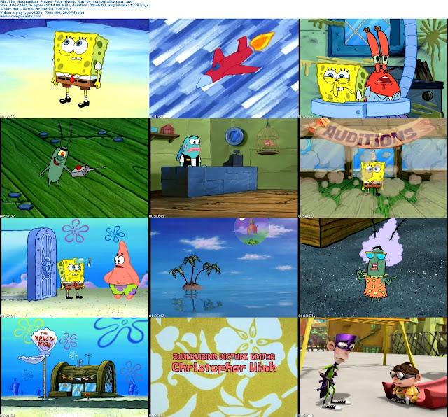 The SpongeBob Frozen Face Off 2011 DVDRip Español Latino Descargar