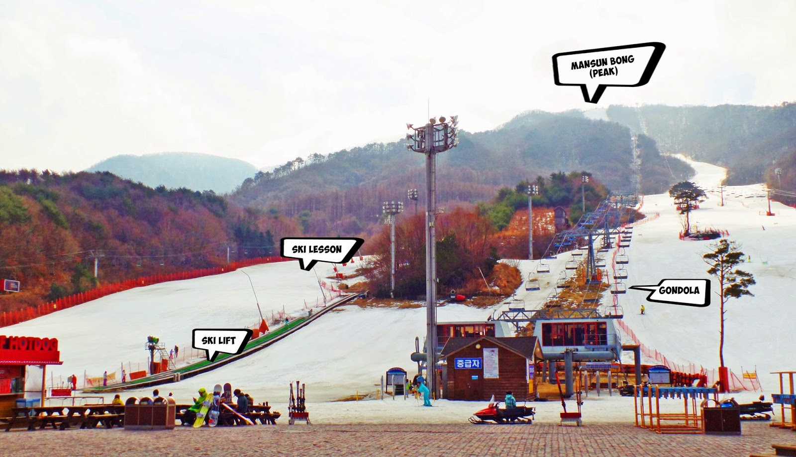Muju Ski Resort - Mansun House 만선하우스 | meheartseoul.blogspot.com