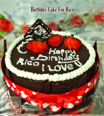 Happy Birthday Mas Rico....Barakallah.....