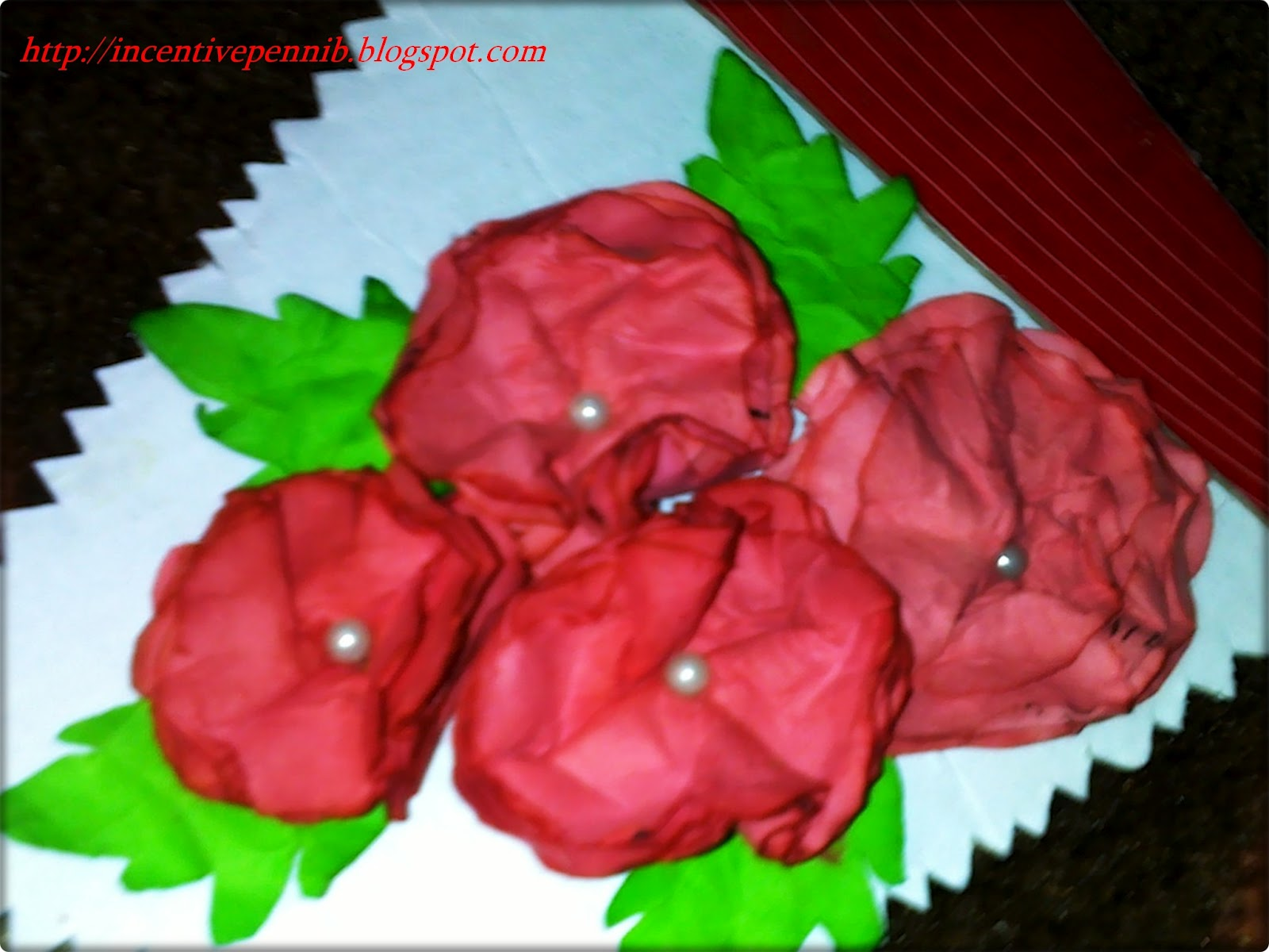 Impulse Quick Paper Flower Work Nbbn Red Theme Post