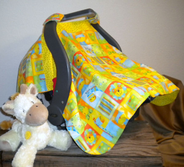 One Zoo Animal Car Seat Canopy