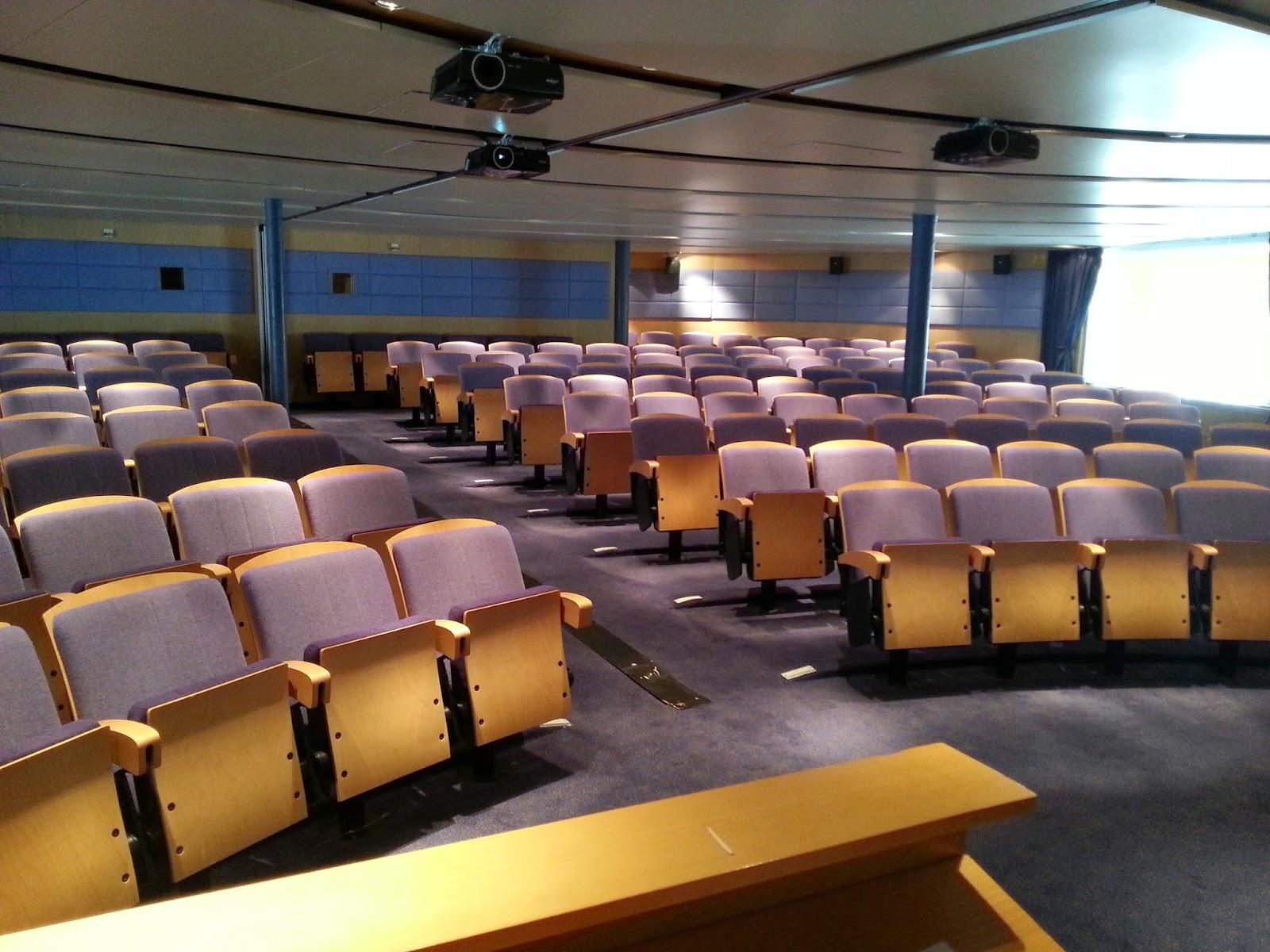 Hurtigruten MS Midnatsol - Lecture Auditorium