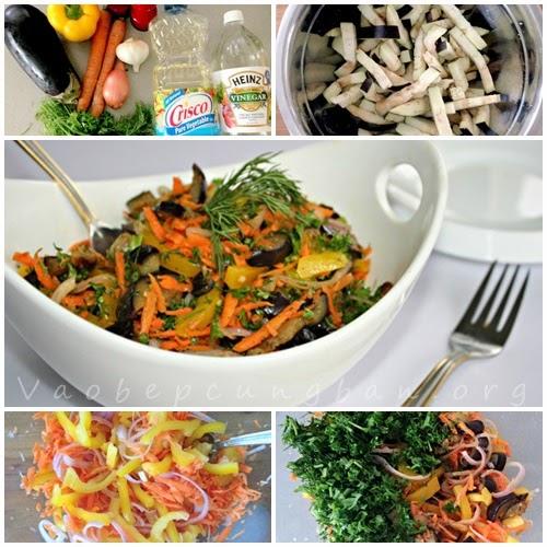 Salad cà tím lạ miệng không ngán 1