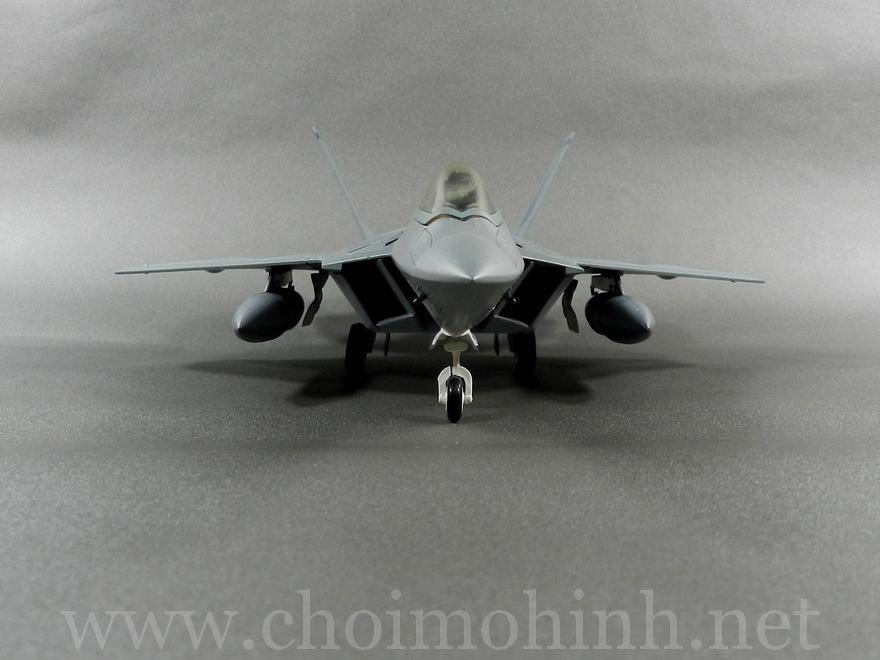 Lockheed F-22 Raptor 1:72 Hobby Master Limited front