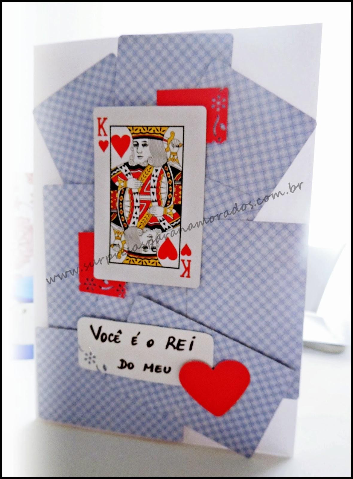 dia dos namorados cartas de baralho