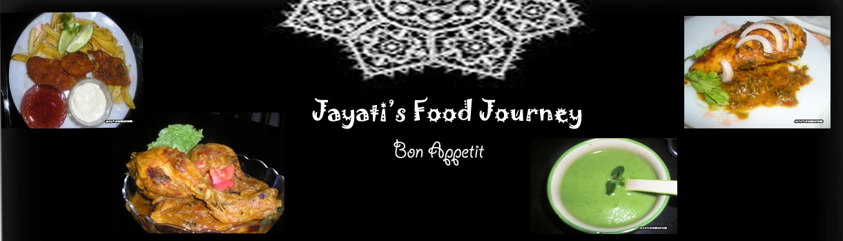 Jayati's Food Journey - Enjoy!!!