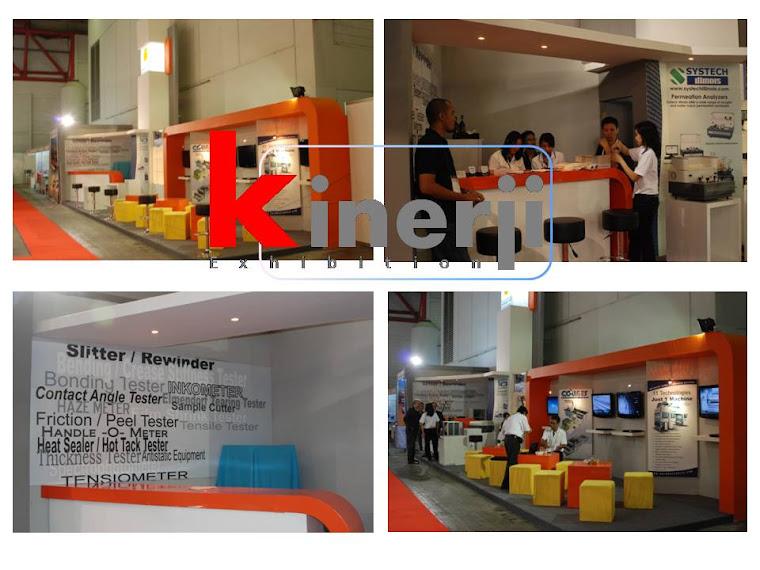 booth stand pameran @jiexpo kemayoran