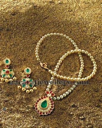 Pearls Long Chain by Ganjam