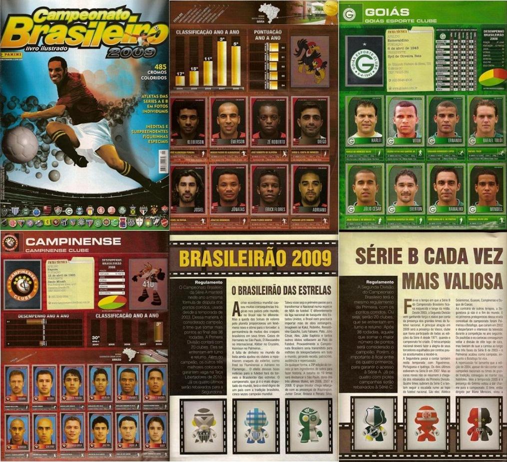 Panini Campeonato Brasileiro: Álbuns Escaneados Digitalizados: 11/09/12