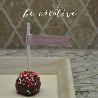 cake pops tutorial on Creative Bag's blog