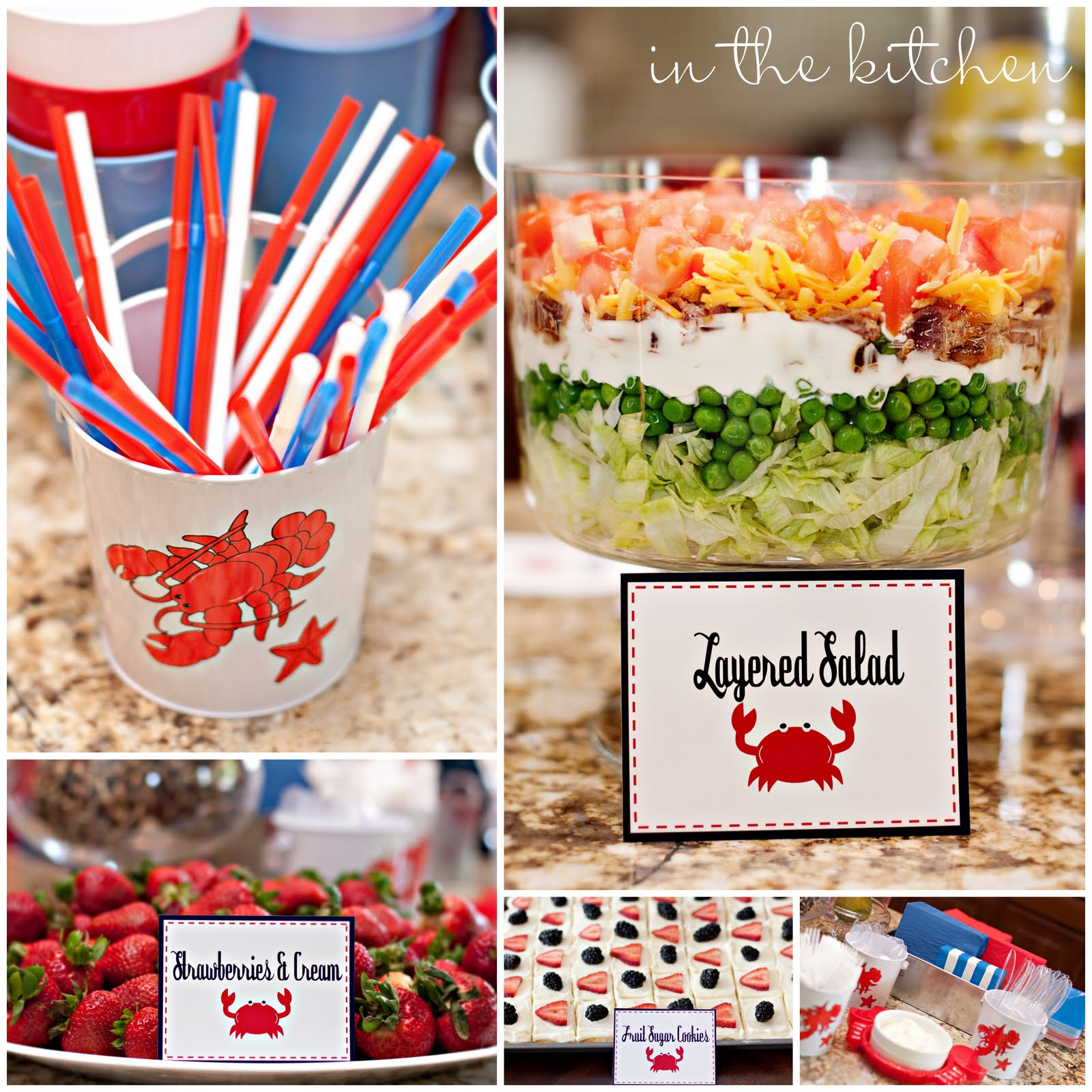 Birthday sale the tomkat studio blog -  The Tomkat Studio Tommy S Crab Shack Party
