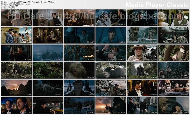 King Kong 2005 video thumbnails