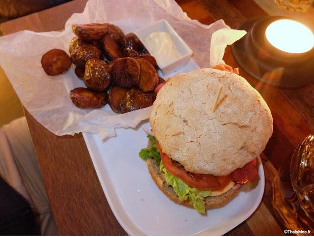 Restaurant Bar Stempel Copenhague burger