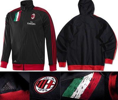 Jaket AC Milan Training Hodie