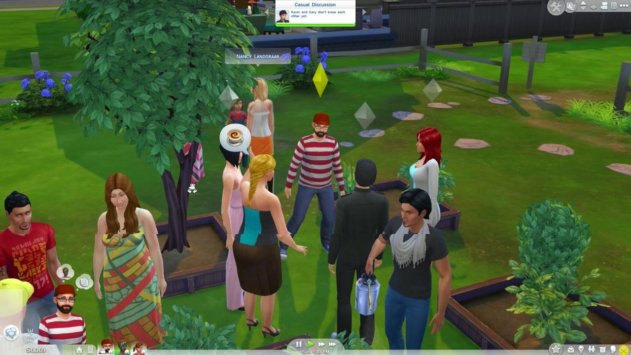 لعبة The sims 4