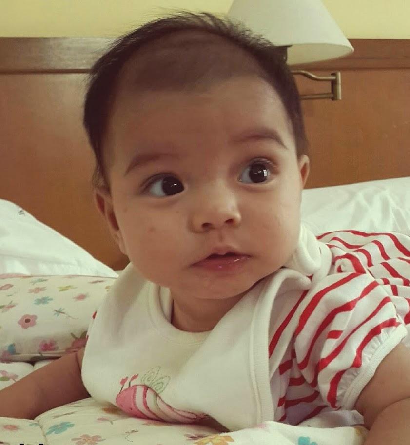 Aisy 4 bulan