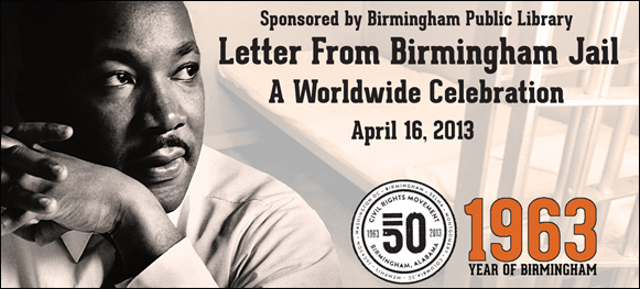 Letter from Birmingham Jail Reading logo