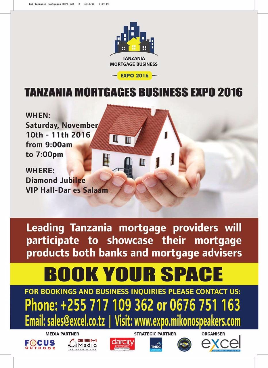 TANZANIA MORTGAGE EXPO 2016