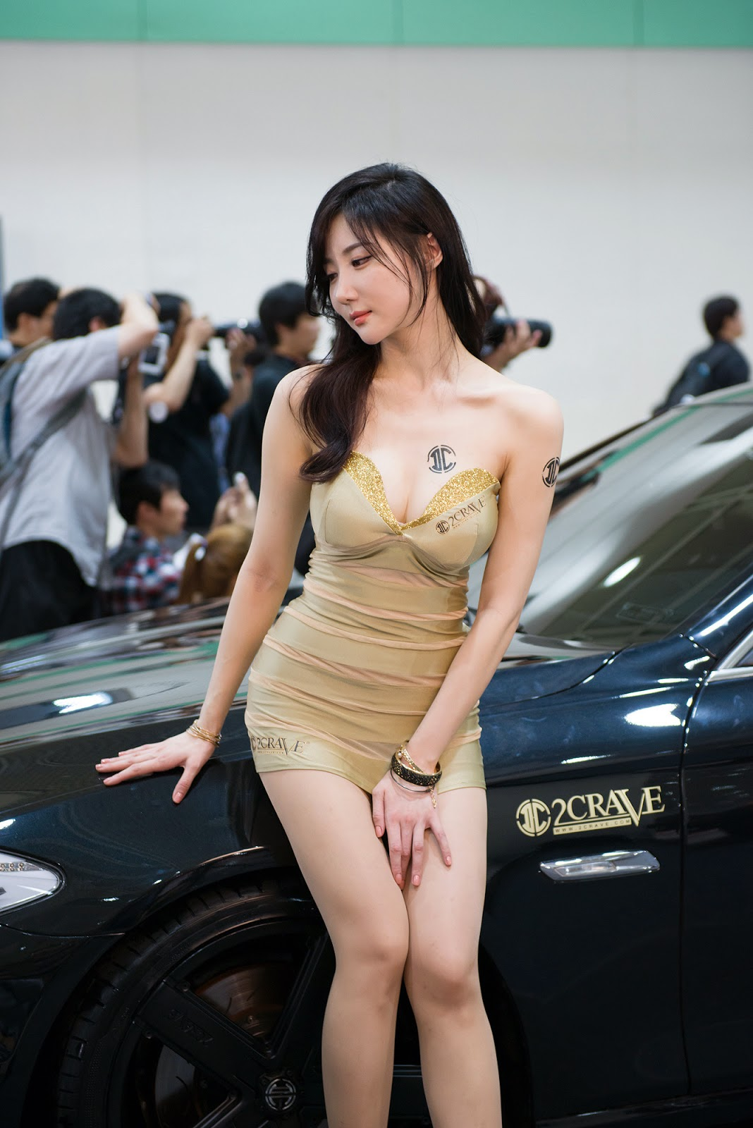3 Yeon Da Bin - Seoul Auto Salon 2014 - very cute asian girl-girlcute4u.blogspot.com