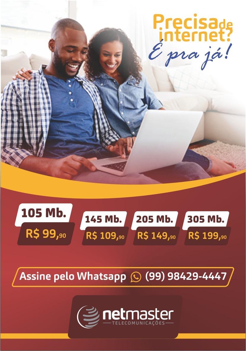 Netmaster - A sua solução em internet banda larga