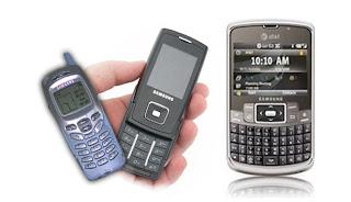 Sejarah ponsel Samsung