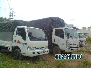 thuê xe ô tô tải thùng kín 3 tấn