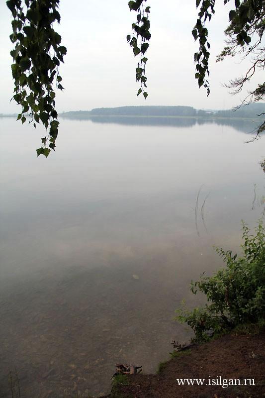 Озеро Анбаш. Кыштымский городской округ. Челябинская область