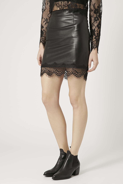 leather skirt for summer nakedlydressed