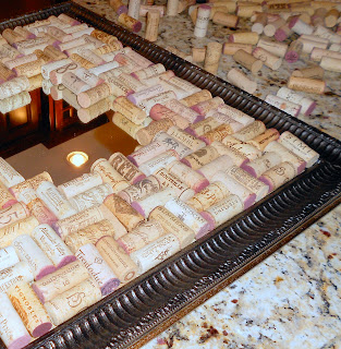Shine your light wine cork tray for Cool things to do with wine corks