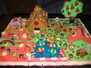 Tortas de Littlest Pet Shop para Fiestas Infantiles, parte 2