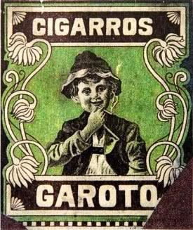 Propaganda dos Cigarros Garoto