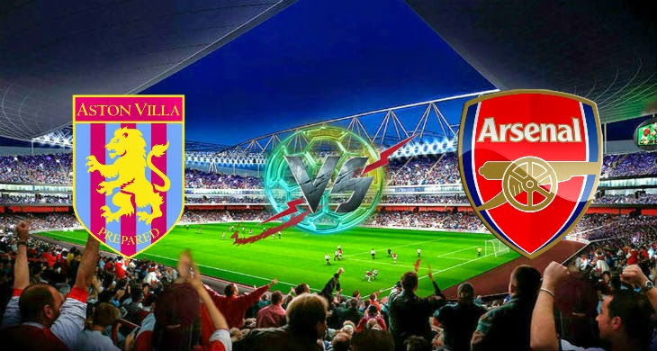 Prediksi Aston Villa vs Arsenal 20 September 2014