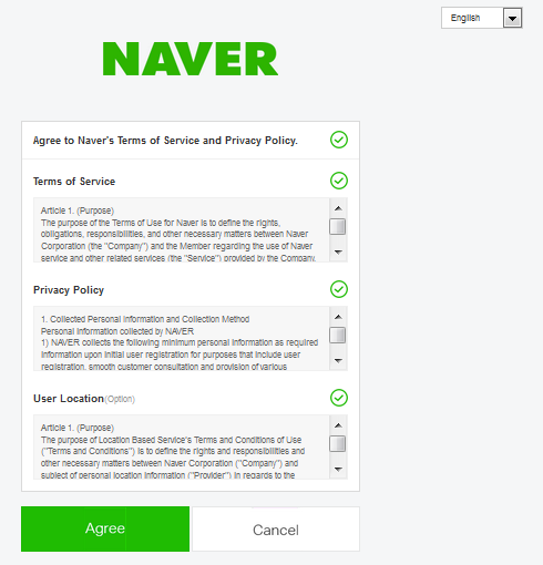 How to create a naver Id