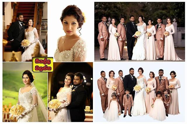 Pushpika De Silva Wedding Moments