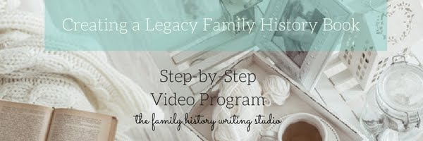 Want to Build a Family History Legacy Book