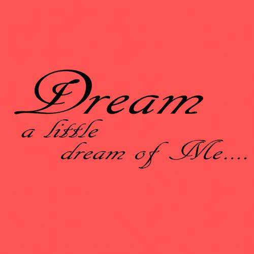 dream a little dream of me real book pdf