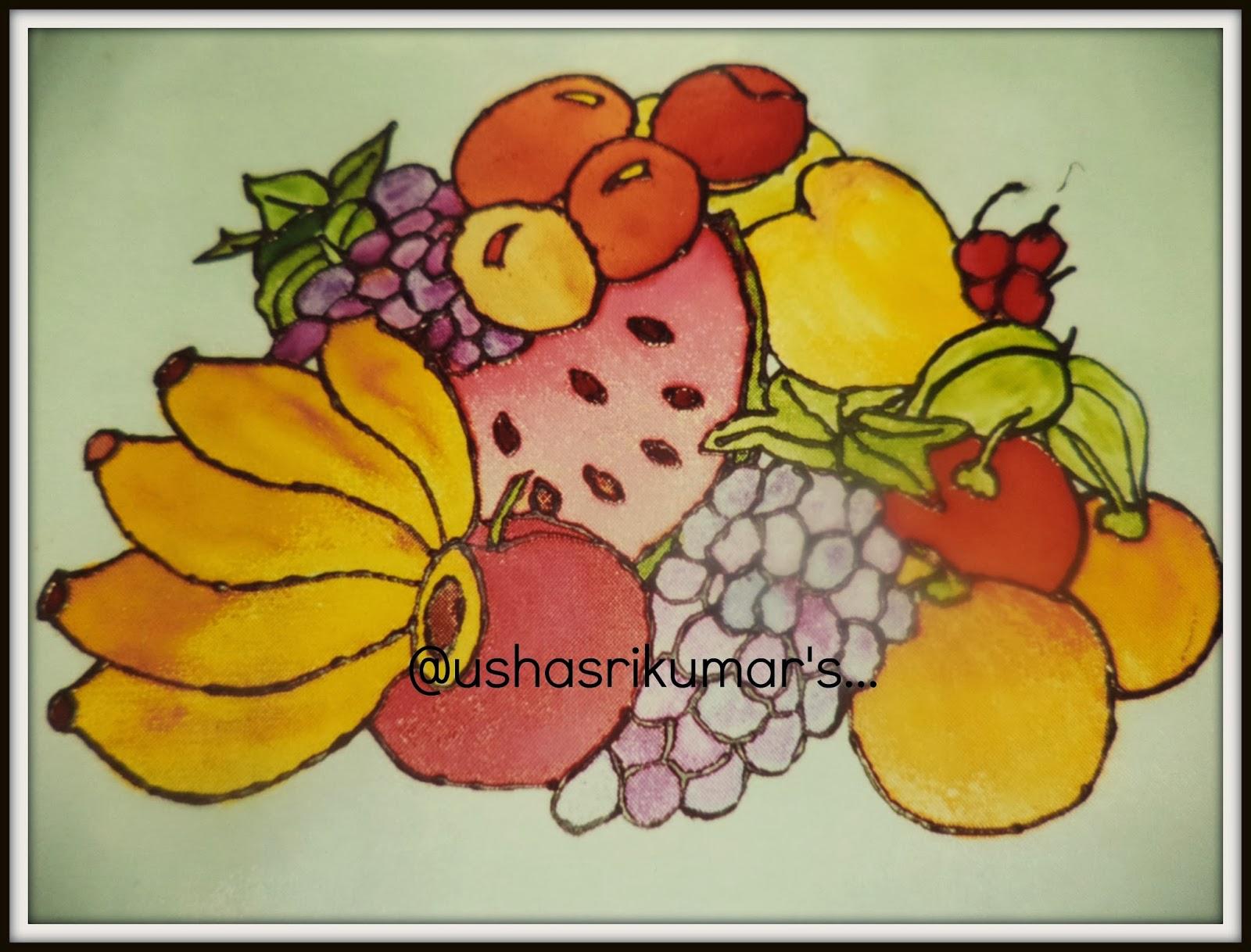 USHA SRIKUMARS MUSINGS HEALTHY N TASTY FRUITS