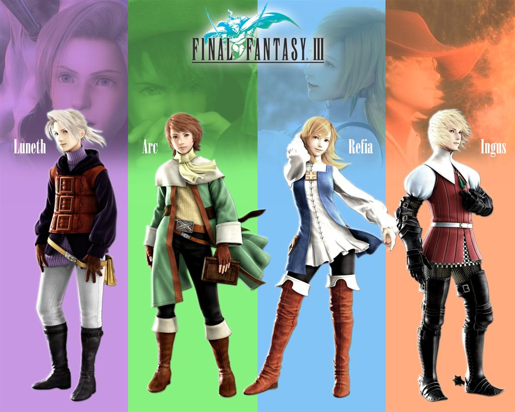 Final Fantasy HD & Widescreen Wallpaper 0.0466957288407892
