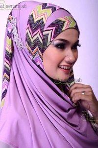 Saqina Salwa Rahima - Violet (Toko Jilbab dan Busana Muslimah Terbaru)