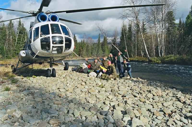 вертолет для рыбалки фото
