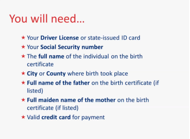 Texas Birth Certificate Andrews County |Get Vital Record Birth ...