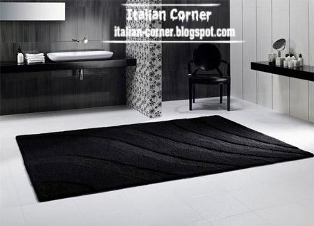 modern black carpet black living room rug black italian