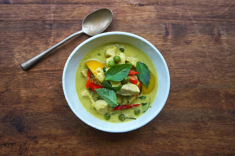 Seasaltwithfood: Thai Green Curry With Chicken