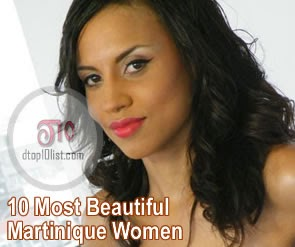 Top 10 Most Beautiful Martinique Women