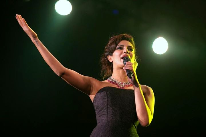 Priyanka love to perform in the Maldives