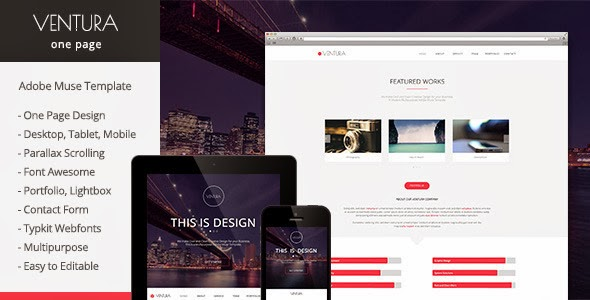 Parallax Muse Template