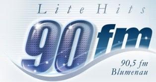 Rádio 90 FM Lite Hits de Blumenau ao vivo